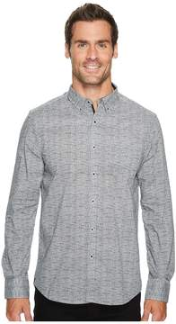 Kenneth Cole Sportswear Texture Print Shirt Men's Clothing