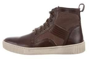 John Varvatos Bedford Trooper High-Top Sneakers w/ Tags