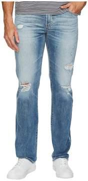 AG Adriano Goldschmied Matchbox Slim Straight Led Denim in 21 Years Blue Isle Men's Jeans