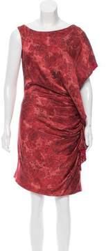 Doo.Ri Floral Print Silk Dress