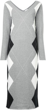 CITYSHOP diamond patterned dress