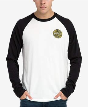 RVCA Men's Motors Fill Logo Raglan T-Shirt