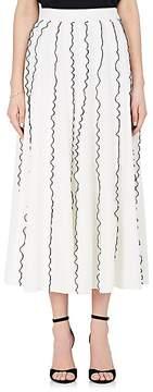 Derek Lam Women's Ruffle Crepe Midi-Skirt