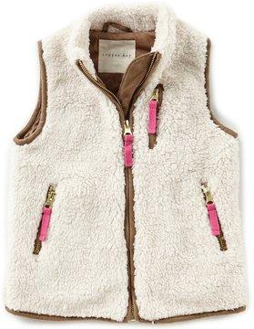 Copper Key Little Girls 2T-6X Faux-Fur Vest