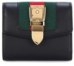 Gucci Embellished leather wallet - BLACK - STYLE