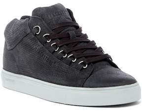 Blackstone Snake Embossed Mid Low Sneaker