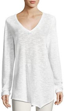 Eileen Fisher Long-Sleeve Organic Links Tunic