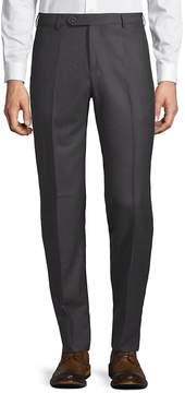 Zanella Men's Parker Flat Front Wool Trousers
