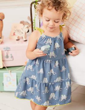 Boden Tiered Summer Jersey Dress