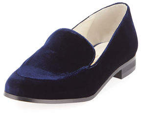 Bettye Muller Regency Velvet Slip-On Loafer