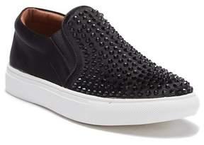 Report Amber Rhinestone Slip-On Sneaker