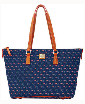 Dooney & Bourke New England Patriots Zip Top Shopper