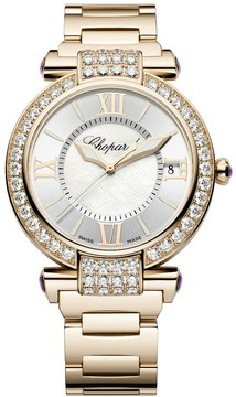 Chopard Imperiale Mother of Pearl Diamond 18kt Rose Gold Ladies Watch
