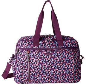 Vera Bradley Lighten Up Weekender Travel Bag Bags - BERRY BURST - STYLE