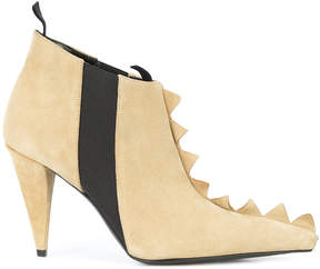 Loewe Zig Zag ankle boots