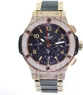 Hublot Big Bang Evolution Rose Gold and Ceramic with Diamonds