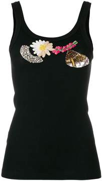 Antonio Marras embellished tank top