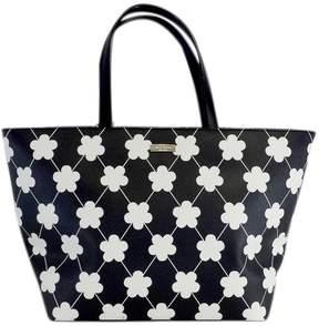 Kate Spade Black & White 'Grant Street Jules' Tote Bag - BLACK - STYLE