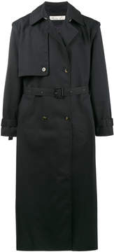 Martine Rose detachable zip sleeve trench coat