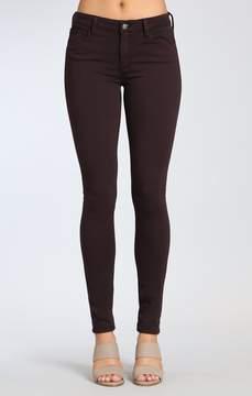 Mavi Jeans Adriana Super Skinny In Wine Twill