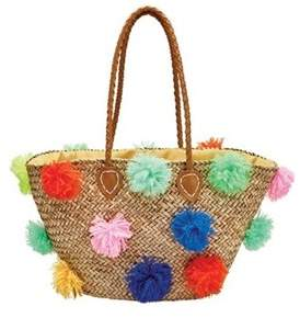 San Diego Hat Company Women's Seagrass Tote Bsb1566.