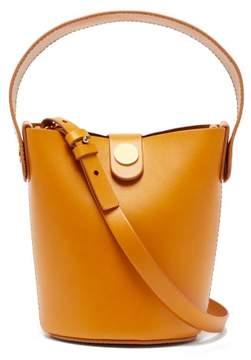Sophie Hulme Nano Swing Leather Bucket Bag - Womens - Brown