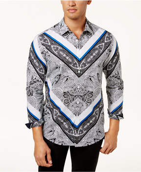 INC International Concepts I.n.c. Men's Paisley Shirt, Created for Macy's
