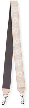 Rebecca Minkoff Embroidered Guitar Strap for Handbag - SOFT BLUSH - STYLE