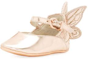 Sophia Webster Chiara Butterfly-Wing Flat, Pink, Infant