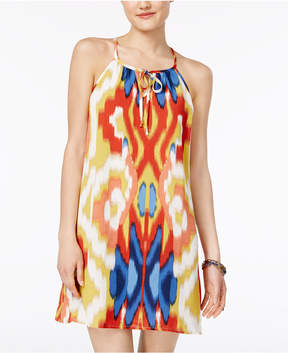 As U Wish Juniors' Printed Shift Dress