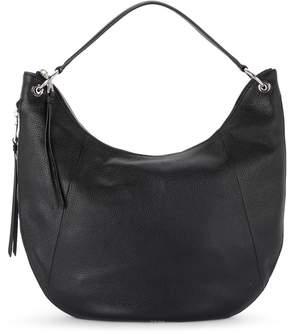 DKNY Tompson Black Leather Shoulder Bag