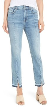 7 For All Mankind Women's Release Hem Ankle Skinny Jeans