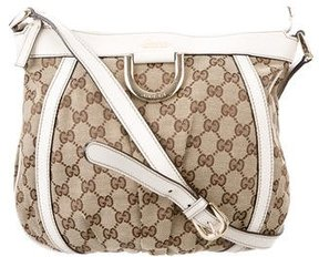 Gucci GG Canvas Crossbody Bag - BROWN - STYLE