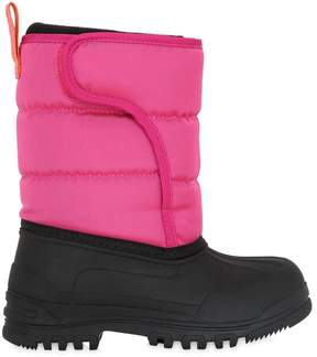 Ralph Lauren Nylon Canvas & Rubber Snow Boots