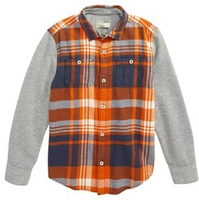 Tucker + Tate Toddler Boy's Woven Plaid Shirt