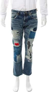 PRPS Cropped Skinny Jeans w/ Tags