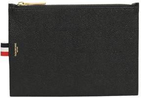Thom Browne Black Leather Wallet