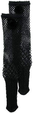 Muveil fishnet high ankle socks