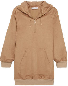 Max Mara - Camel Hair Hooded Top - Sand