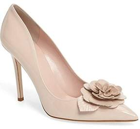 Kate Spade Womens Linden Leather Pointed Toe Classic Pumps
