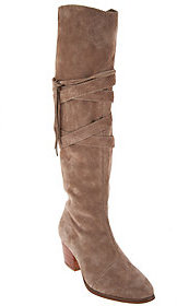 Sole Society As Is Suede Tall Shaft Boots - Antoinette