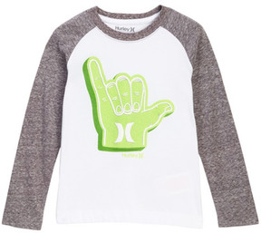 Hurley Rocker Raglan Tee (Toddler Boys)