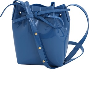 MANSUR GAVRIEL Patent Mini Mini Bucket Bag