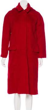 Barneys New York Barney's New York Long Wool Coat
