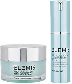 Elemis Pro-Collagen Marine Cream & Super Serum 2-Piece Set