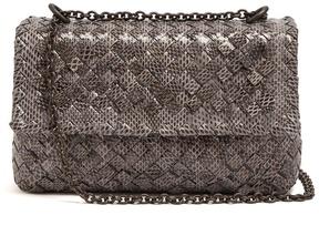 Bottega Veneta Olimpia intrecciato water-snake shoulder bag