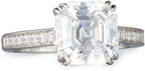 FANTASIA Asscher-Cut Clear Cubic Zirconia Ring