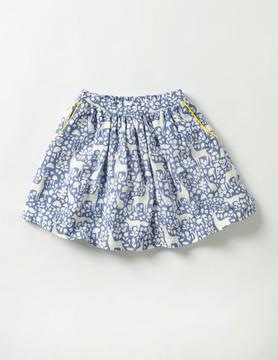 Boden Twirly Printed Skirt