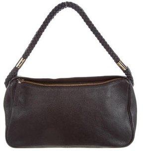 Kate Spade Leather Shoulder Bag - BLACK - STYLE