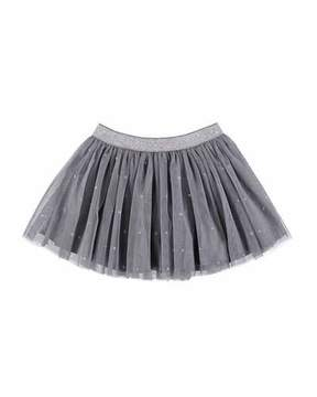 Mayoral Stars Pleated Tulle Skirt, Size 3-7